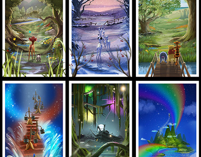 Disney Perspectives ( set one )