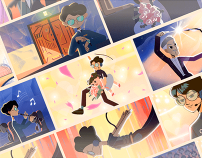NTT|Theater Etiquette Animation Series