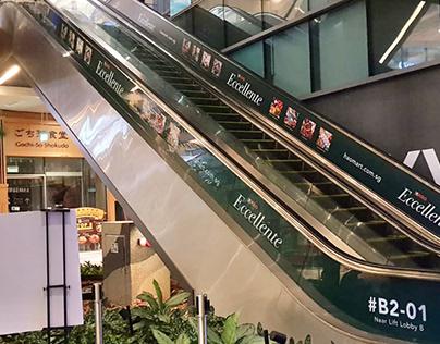 Print Design: Westgate Escalator