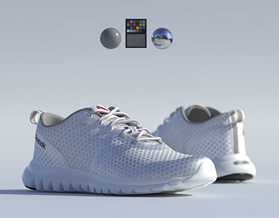 3D Footwear Lighting - IBL