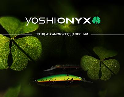 Yoshionyx / web design / photography and retouching