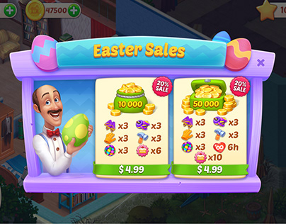 UI easter sale