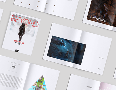 Beyond Magazine - Editorial and layout design