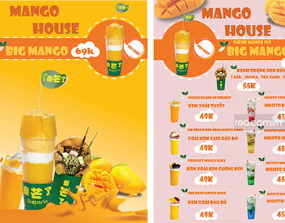 Menu Mango House