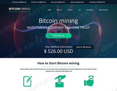 Bitcoin Mining Templates