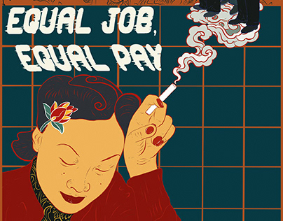 equal job, equal pay | poster