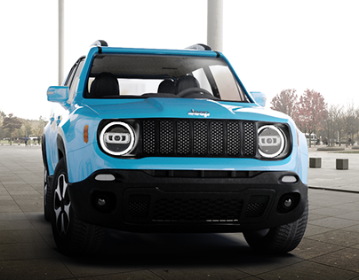 Jeep Renegade TrailHawk - CGI