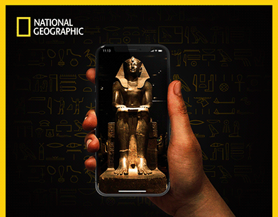 Nat Geo campaign about Ancient Egypt