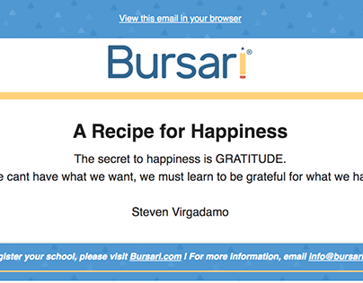 Bursari Quotes by Steve Virgdamo