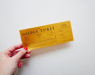 A+V   Golden Ticket