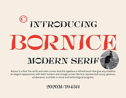 Bornice Modern Serif