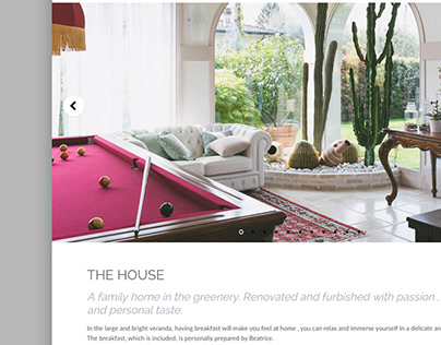 La Casa dei Ciliegi | Interior photography + Website