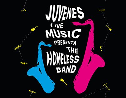 Juvenes Live Music - Event Poster