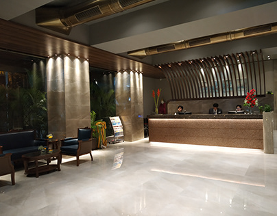 Reception lobby and Bar Lounge