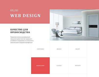 Website Redesign in Adobe XD