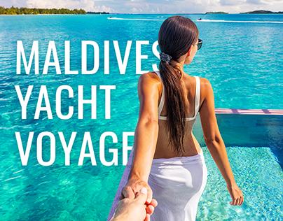 Maldives yacht voyage