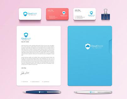 CloudSheild Logo & Branding D esign