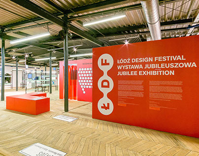 exhibtion design: JUBELEE ŁDF 2016