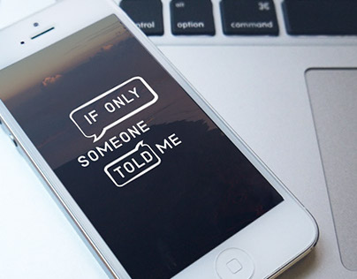 If Only Someone Told Me: Mobile Mentoring Application