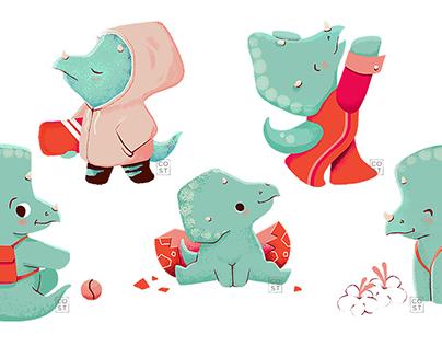 Miriam the Triceratops