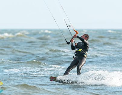 Kite Surfer - Brighton Beach