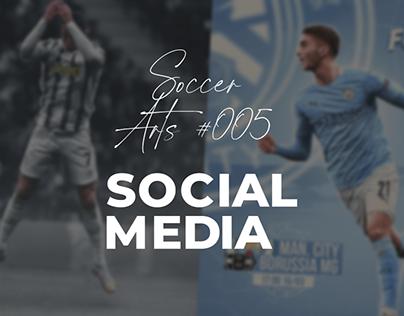 Social Media - Soccer Arts #005