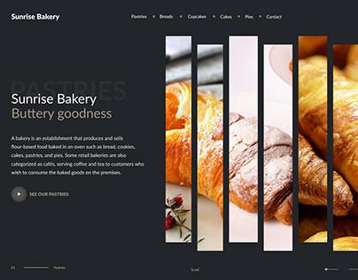 Bakery UI Concept
