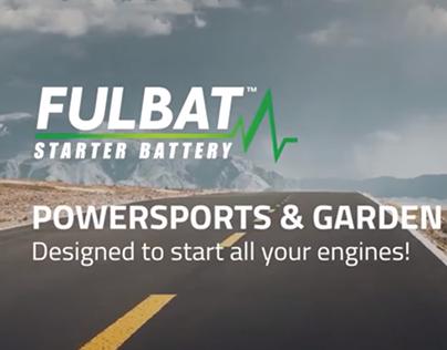 Fulbat Starter Battery