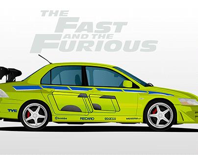 2002 Mitsubishi Lancer Evo VII ( Fast And Furious )