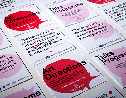 International Film Festival Rotterdam brochures design