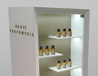 POSM Display Haute Parfumerie