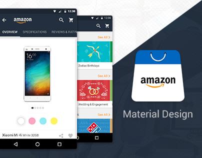Amazon Material Design Concept