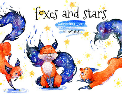 Foxes and stars