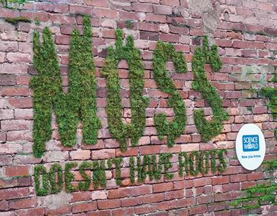 Science World Moss Wall