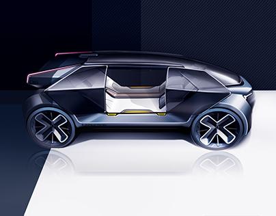 Volvo 2030 - Kiska Sponsored Studio