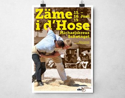 Poster Swiss Wrestling