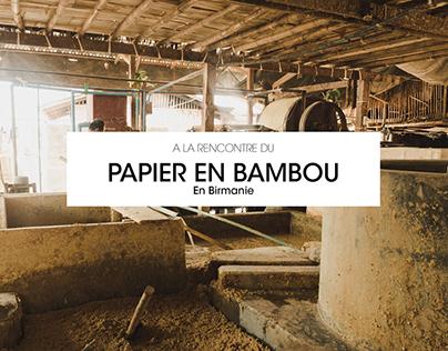 Papier en bambou