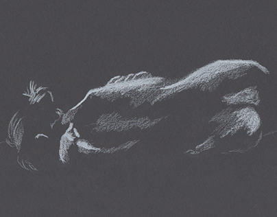 Observation Drawing // Nude Model