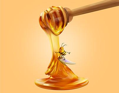Honey - Digital painting