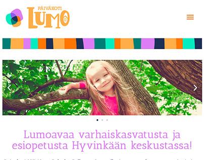 WEB PAGE: Päiväkoti Lumo