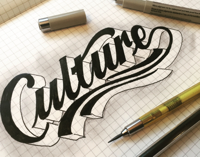 Culture Handlettering Design