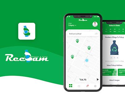 Reclam App - UI Design
