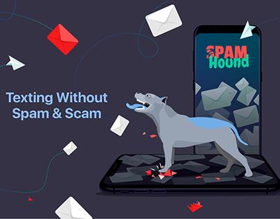 SpamHound SMS Spam Filter app