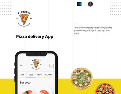 Pizza delivery App - UI/UX