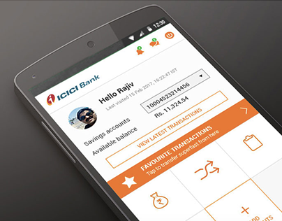 ICICI imobile app - experience redesigned