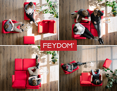 Foooxs - The most compact sofa in the world
