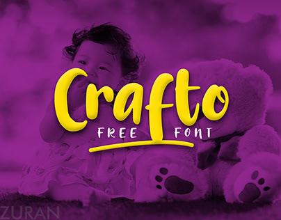 Free Crafto Handmade Font