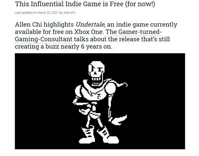 This Influential Indie Game is Free (for now!)