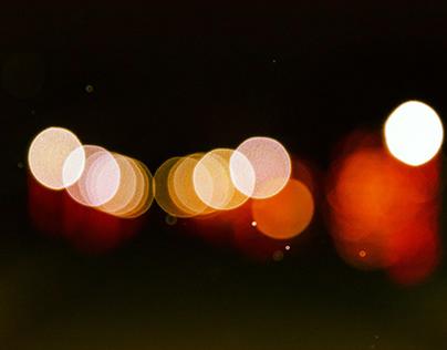 Abstract bokeh lights