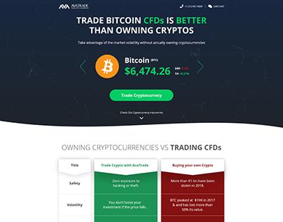 Crypto Page - UX UI